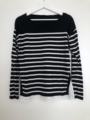 Esprit T-shirt rayé noir-blanc