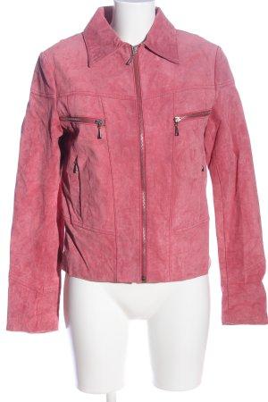 Rino & Pelle Lederjacke pink Casual-Look