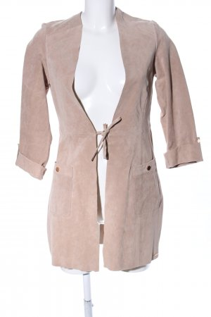 Rino & Pelle Ledermantel nude Casual-Look
