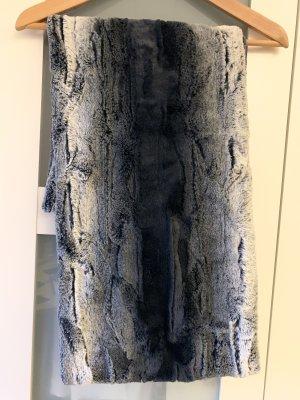 Rino & Pelle Bufanda tubo azul oscuro-azul