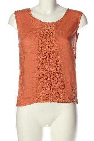 Rip curl Haut en crochet orange clair style décontracté