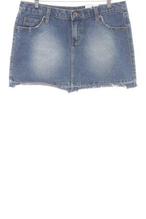 Rip curl Jupe en jeans bleu style décontracté