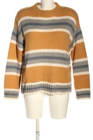 Rip curl Sweter oversize Wzór w paski W stylu casual