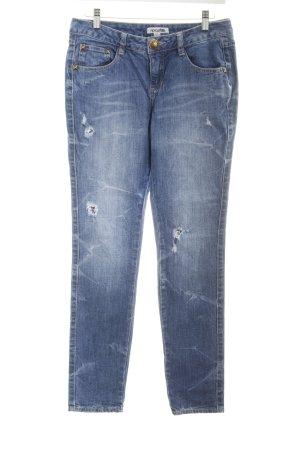 Rip curl Skinny Jeans blau Destroy-Optik