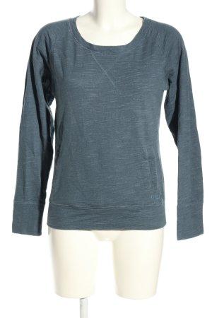 Rip curl Sweatshirt blauw gestippeld atletische stijl