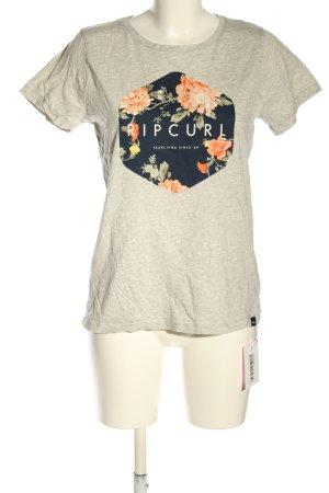Rip curl T-shirt Nadruk z motywem Elegancki