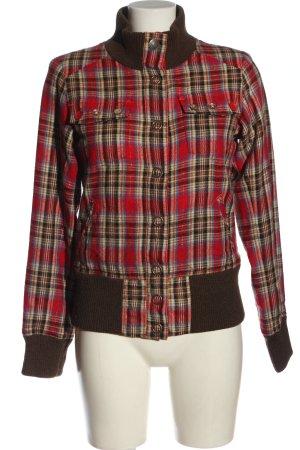 Rip curl Between-Seasons Jacket check pattern casual look