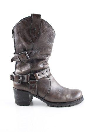 Ripicca Absatz Stiefel braun Casual-Look