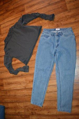 Ripped Back Jeans Blau neu Nakd Gr. 36