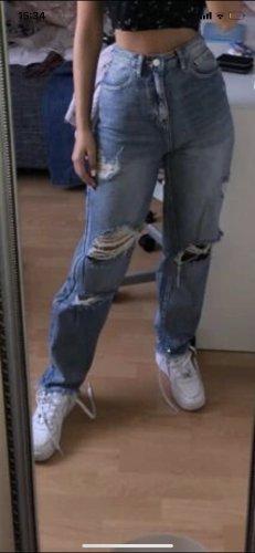 Workowate jeansy Wielokolorowy