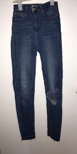 Tally Weijl Hoge taille jeans lichtblauw-blauw