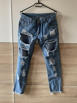 Amazon fashion Jeans boyfriend azzurro