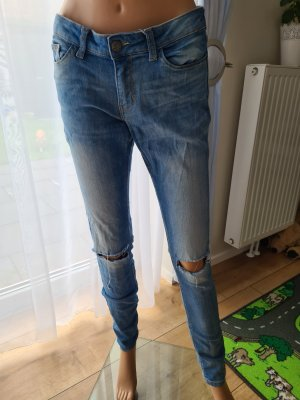 Noisy May Jeans a sigaretta blu