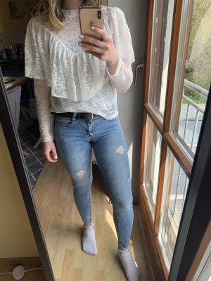New Look Jeans cigarette bleu fluo-bleu clair