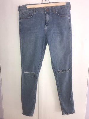 Topshop Tube jeans veelkleurig
