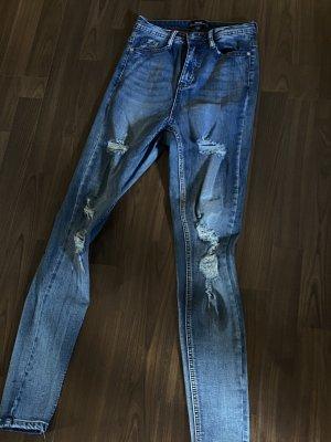 Zalando Jeans a sigaretta blu scuro-blu