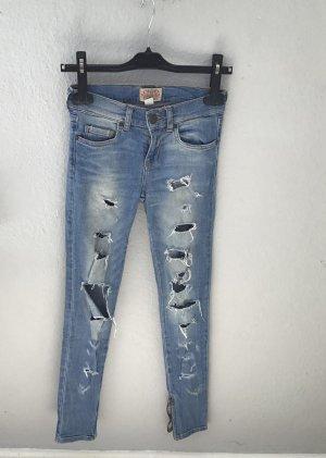 Ripped Jeans, Bershka, Größe 34