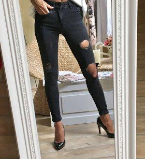 Ripped Jeans dunkelgrau Zara!