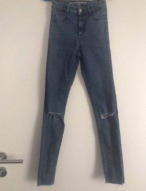 Ripped Jeans Jeggings mit Risse Zara Gr 32