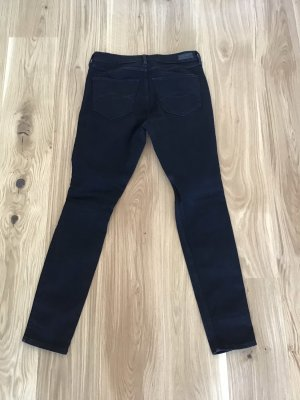 Abercrombie & Fitch Hoge taille jeans zwart