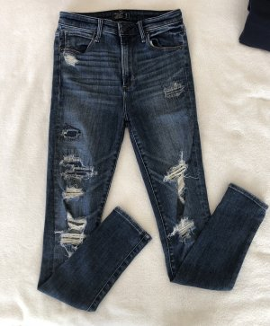 Abercrombie & Fitch High Waist Jeans multicolored