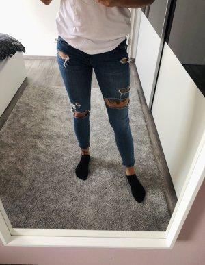 Tally Weijl Jeans cigarette bleu-bleu acier