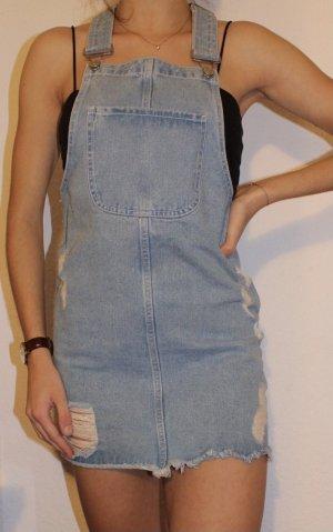 New Yorker Jeansowa sukienka błękitny-chabrowy