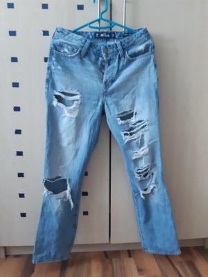 Hollister Mom-Jeans azure