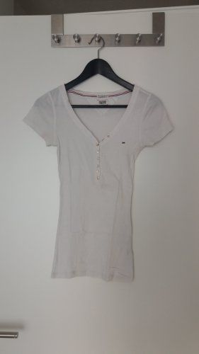 Tommy Hilfiger Camicia a coste bianco