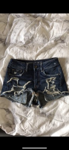 American Eagle Outfitters Hot Pants dark blue