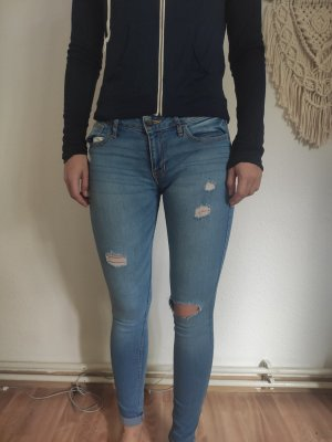Ripped Skinny Jeans von Hollister