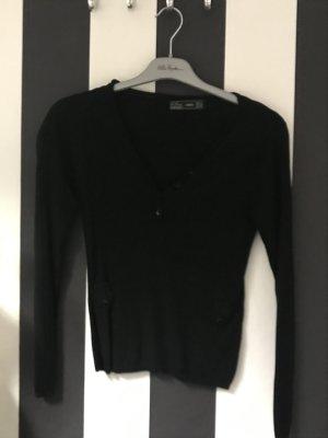 Rippenstrick Pullover Seide von Zara