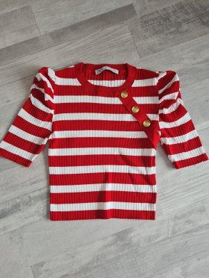 Rippenstrick Shirt Zara S
