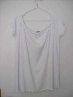 Pimkie Chemise côtelée blanc