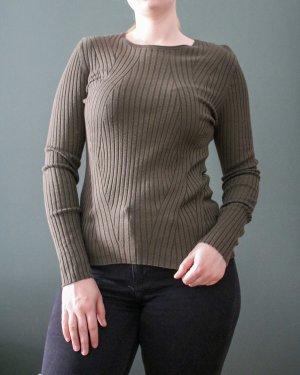 Rippstrick Pullover