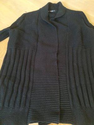 Mango Cardigan a maglia grossa nero