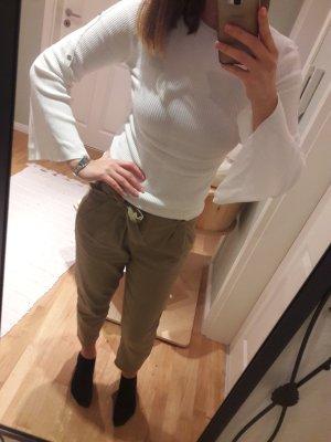 Miss Selfridge Pull tricoté blanc lycra