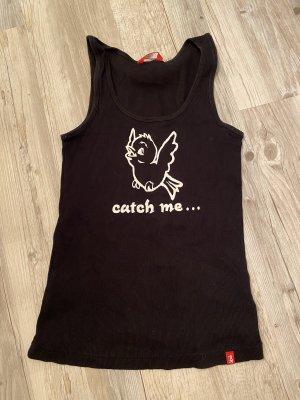 Edc Esprit Camiseta sin mangas negro-blanco