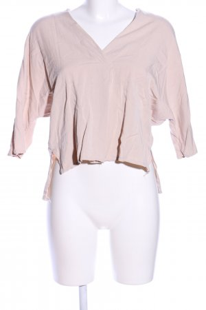 RIQUAI V-Ausschnitt-Shirt nude Casual-Look