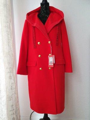 Escada Capuchon jas rood