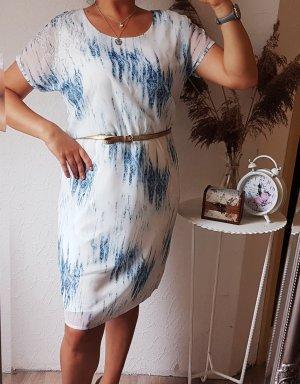 Rita Pfeffinger HSE24 Kleid blau weiß 38/40 neu