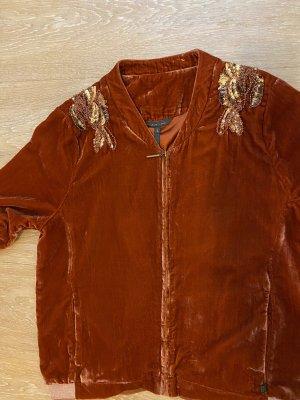 rituals College Jacket russet velvet