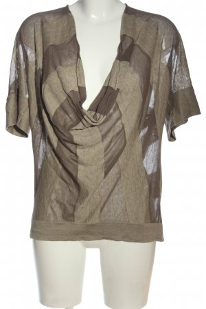 Rivamonti  marrone-crema puntinato stile casual