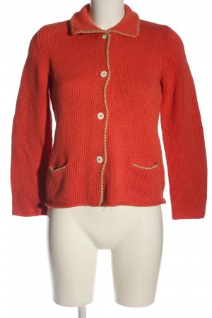 Rivamonti Pullover all'uncinetto rosso stile casual