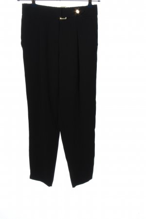 River Island 7/8 Length Trousers black casual look
