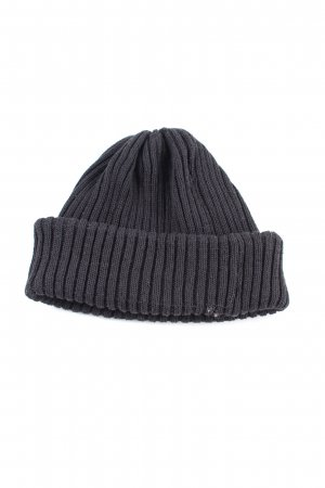 River Island Beanie black cable stitch casual look