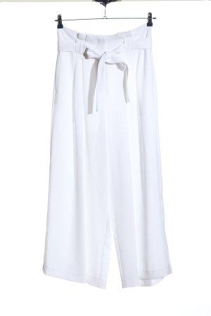 River Island Pantalón de pinza blanco look casual