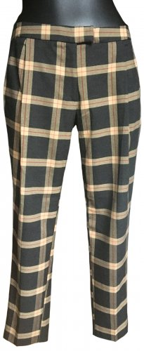 River Island Pleated Trousers multicolored