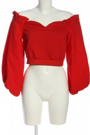 River Island Carmen Blouse red casual look