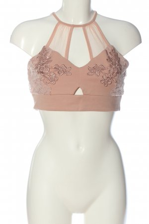 River Island Cropped top nude casual uitstraling